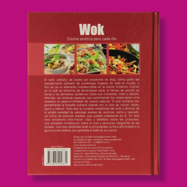 Wok cocina asiática para cada día - Varios Autores - FSC
