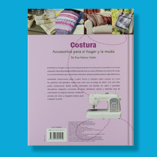Costura accesorios para el hogar y la moda - Varios Autores - Naumann & Gobel Verlags