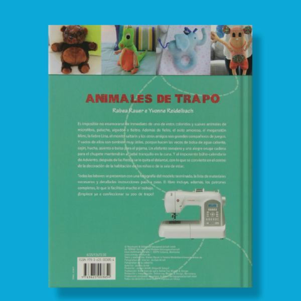 Costura animales de trapo - Varios Autores - Naumann & Gobel Verlags