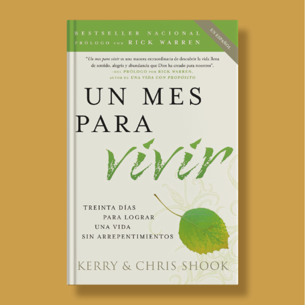 Un mes para vivir - Kerry & Chris Shook - Vintage