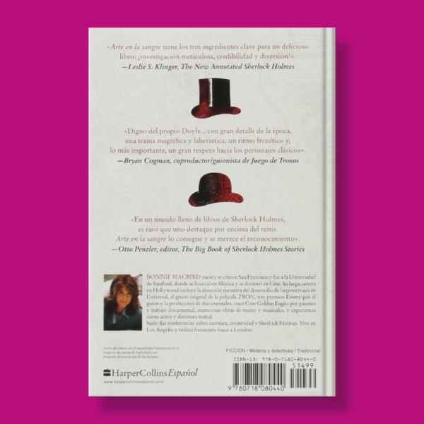Arte la sangre: Una aventura de sherlock holmes - Boniie Macbird - Harper Collins Ibérica