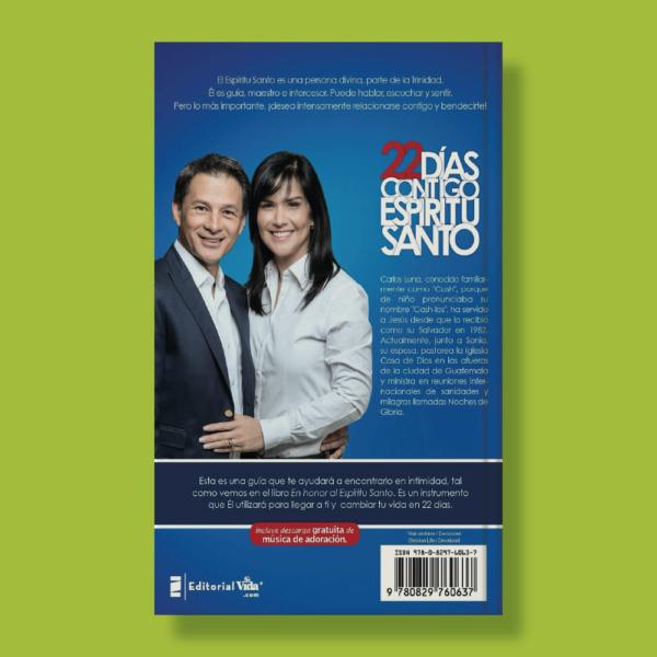 22 días contigo Espíritu Santo - Cash Luna - Editorial Vida