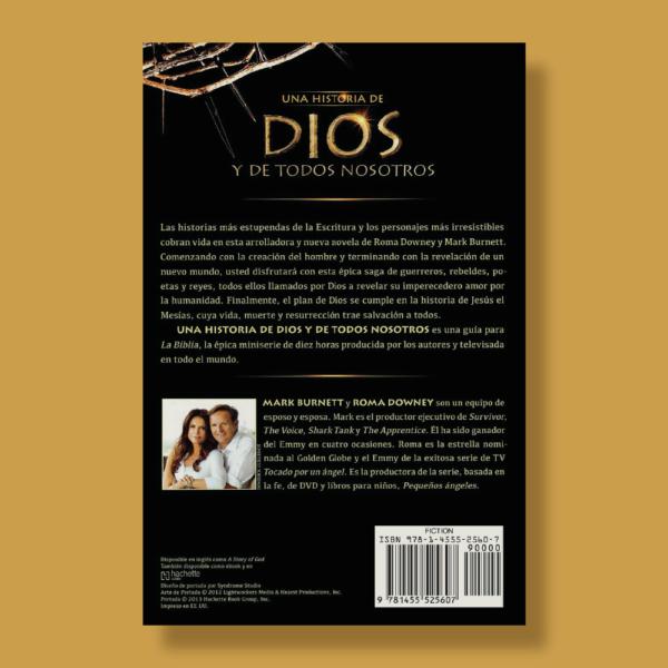 Una historia de Dios y de todos nosotros - Roma Downey & Mark Burnett - Faith Words