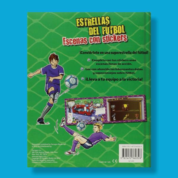 Estrellas del fútbol: Escenas con stickers - Varios Autores - Parragon Books