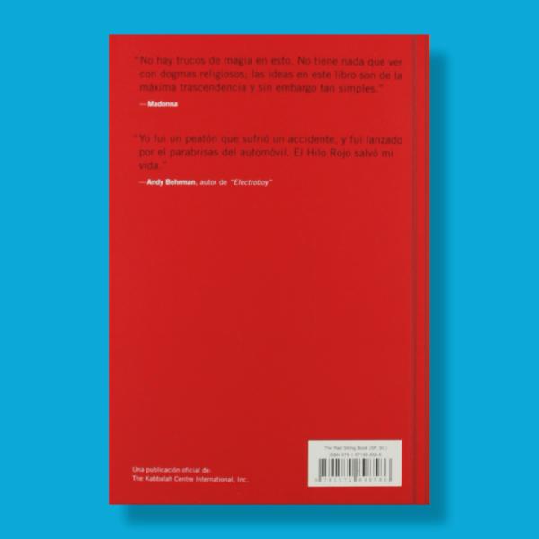 El libro del hilo rojo - Yehuda Berg - Kabbalah Publishing