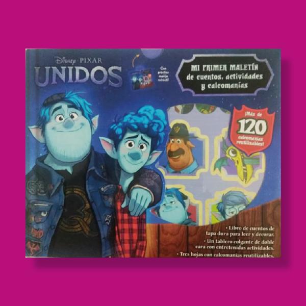 Unidos: Mi primer maletín de cuentos y calcomanías - Disney - Planeta