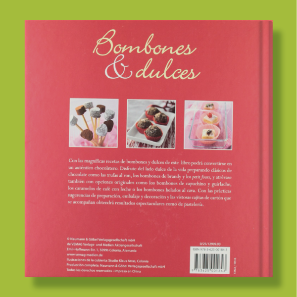 Bombones y dulces - Varios Autores - Naumann & Gobel Verlags