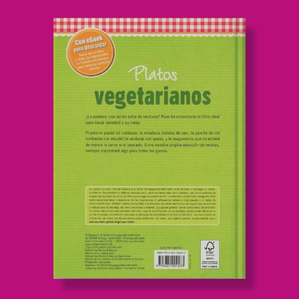 Platos vegetarianos - Varios Autores - Naumann & Gobel Verlags