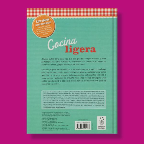 Cocina ligera - Varios Autores - Naumann & Gobel Verlags