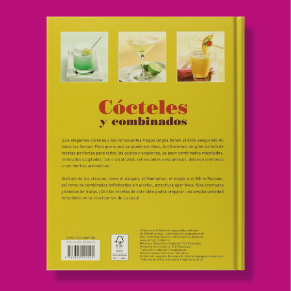 Cócteles y combinados - Varios Autores - Naumann & Gobel Verlags
