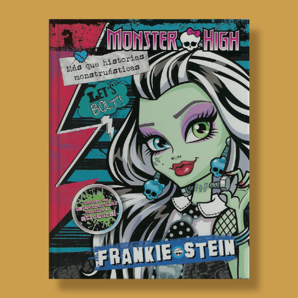 Monster High: Frankie + stickers - Varios Autores - Editorial Cordillera