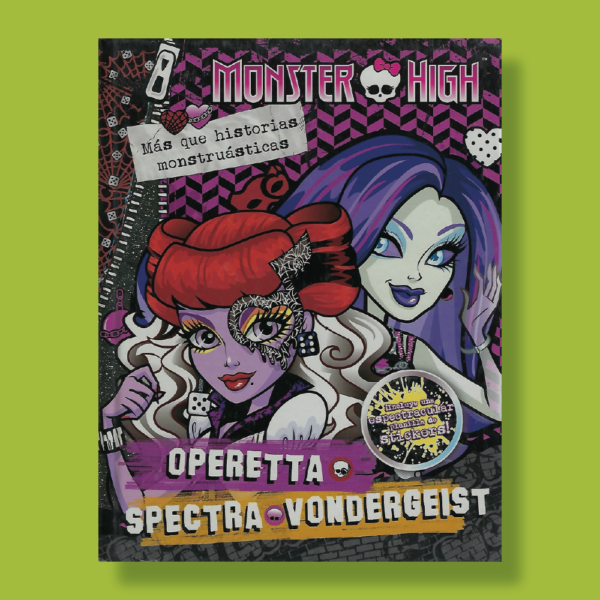 Monster High: Operetta y spectra + stickers - Varios Autores - Editorial Cordillera