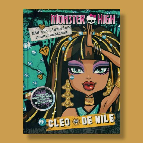 Monster High: Cleo + stickers - Varios Autores - Editorial Cordillera