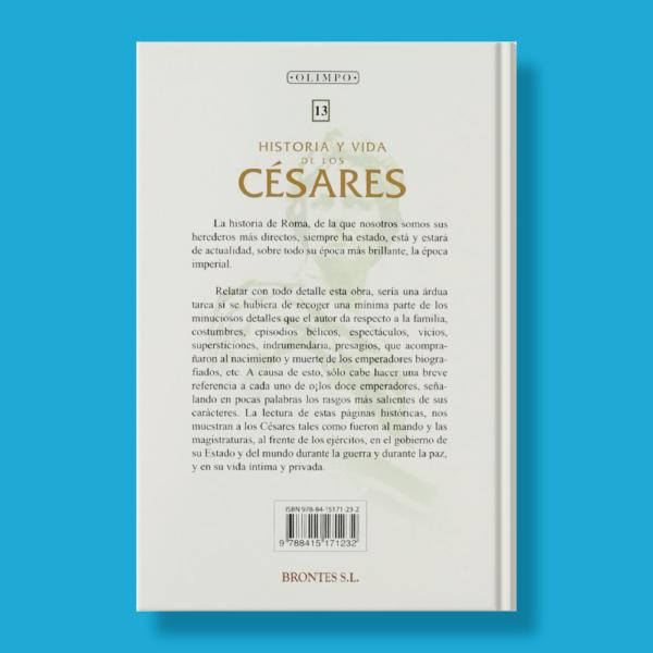 Historia y vida de los Cesares - Suetonio - Brontes S.L.