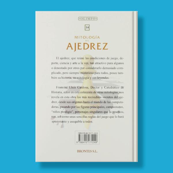 Mitología del ajedrez - Francesc Ll.Cardona - Brontes S.L.