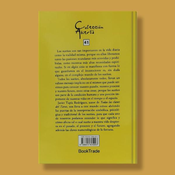 El libro de oro de los sueños - Javier Tapia Rodriguez - BookTrade