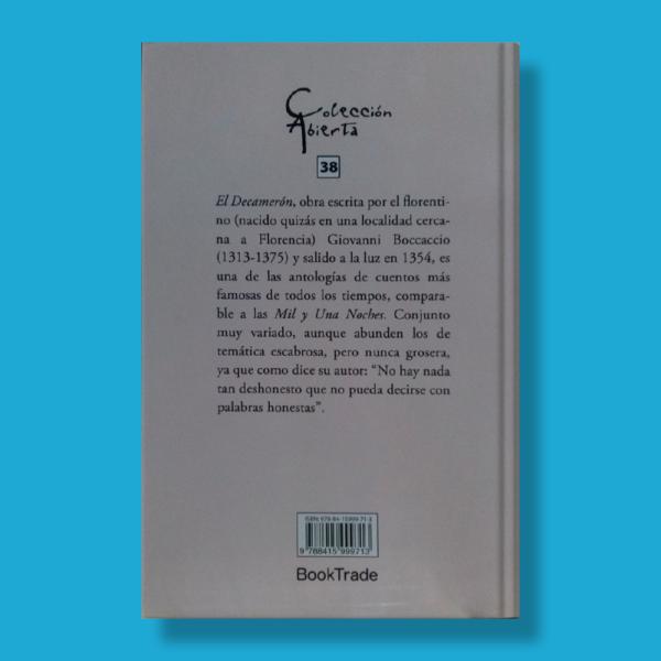 El decamerón - Giovanni Boccaccio - BookTrade