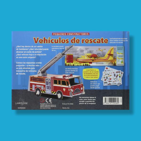 Pequeños constructores: Vehículos de rescate - Varios Autores - Larousse