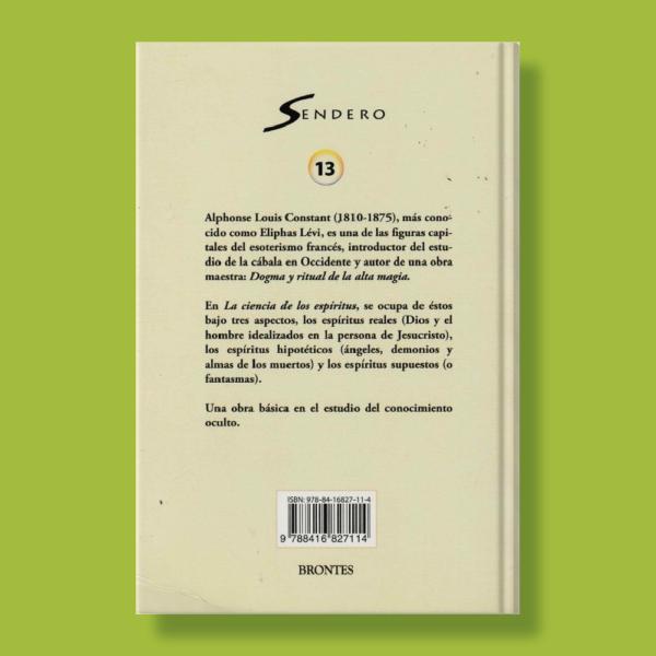 La ciencia de los espíritus - Eliphas Lévi - Brontes S.L.