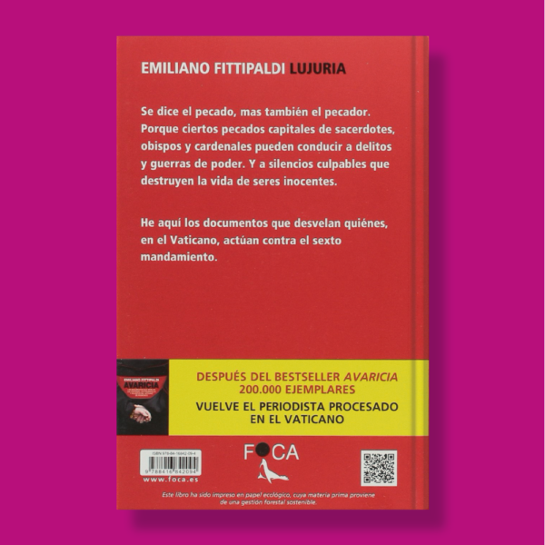 Lujuria - Emiliano Fittipaldi - Foca