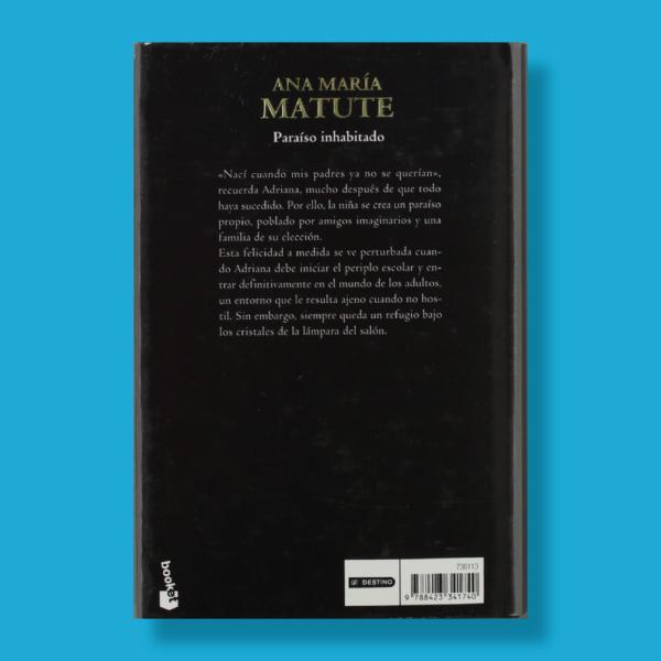 Paraíso inhabitado - Ana María Matute - Booket