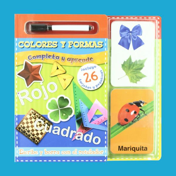Colores y formas: Completa y aprende - Varios Autores - San Pablo