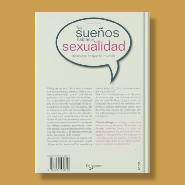 Tus sueños hablan de tu sexualidad descubre lo que te revelan - Christian Congiu - De Vecchi