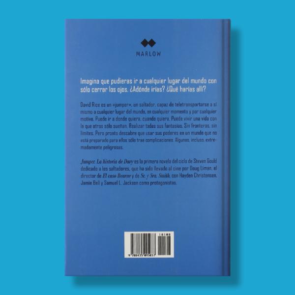 Jumper: La historia de Davy - Steven Gould - Marlow