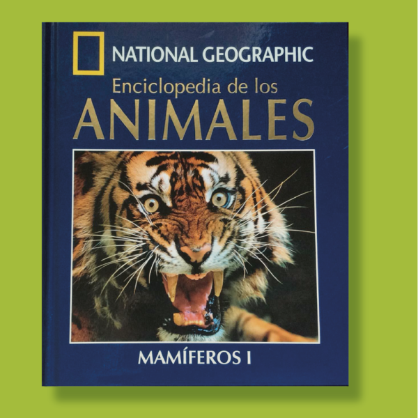 Enciclopedia de los animales mamíferos l - National Geographic - RBA