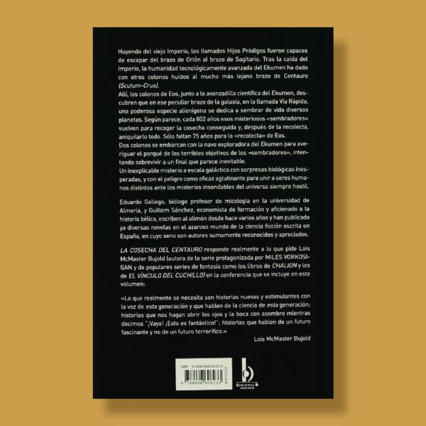 La cosecha del centauro - Eduardo Gallego & Guillem Sánchez - Ediciones B