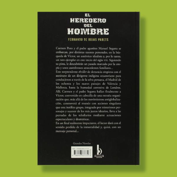 El heredero del hombre - Fernando De Rojas Parets - Ediciones B