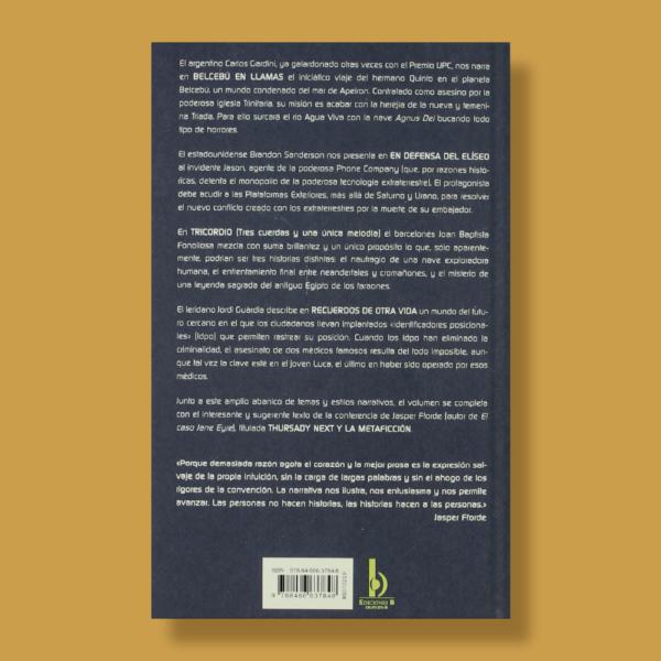 XVII premio upc - Miquel Barcelo - Ediciones B