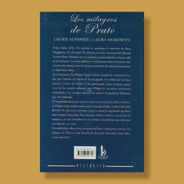 Los milagros de prato - Laurie Albanese & Laura Morowitz - Ediciones B