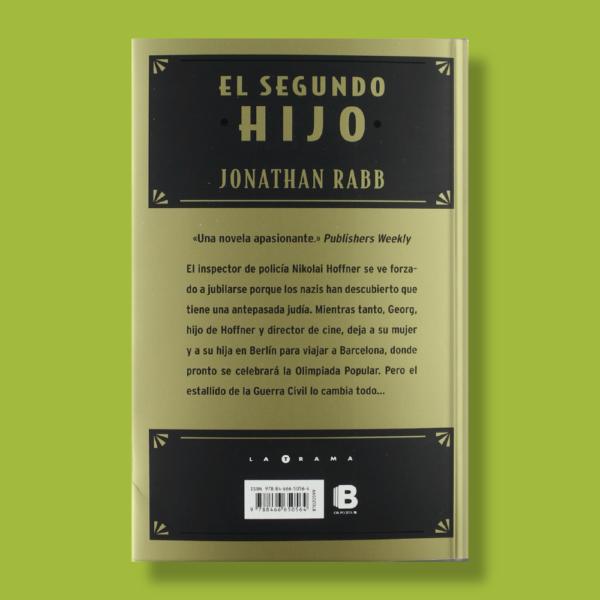 El segundo hijo - Jonathan Rabb - Ediciones B