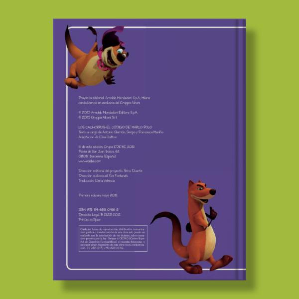 Los cachorros: El código de marco polo - Varios Autores - Edebé