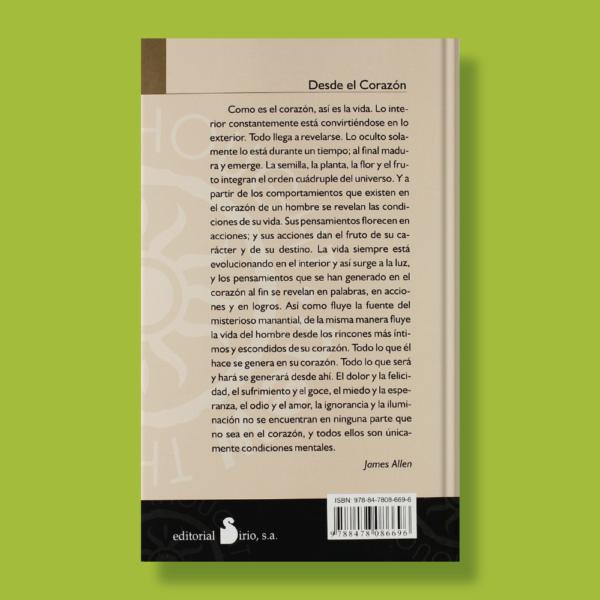 Desde el corazón - James Allen - Editorial Sirio