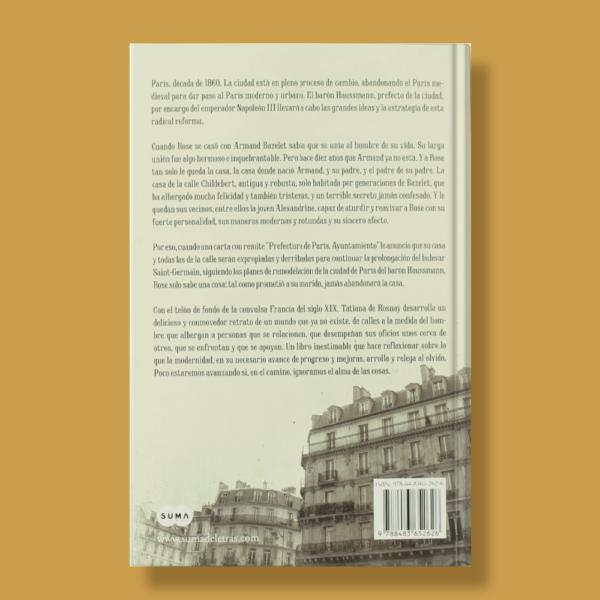 La casa que amé - Tatiana de Rosnay - Prisa Ediciones