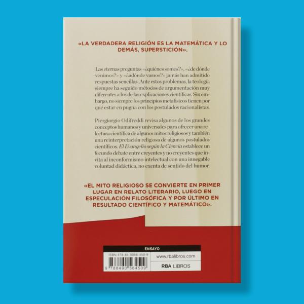 El evangelio según la ciencia - Piergiorgio Odifreddi - RBA