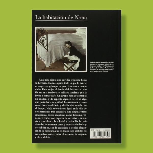 La habitación de nona - Cristina Fernándes Cubas - TusQuets