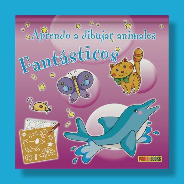 Aprendo a dibujar animales fantásticos - Varios Autores - Panini Books
