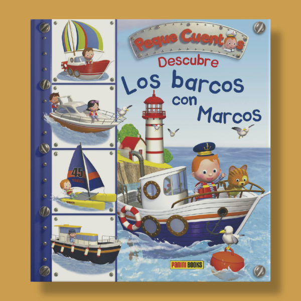 Peque cuentos: Descubre los barcos con marcos - Émilie Beaumont - Panini Books