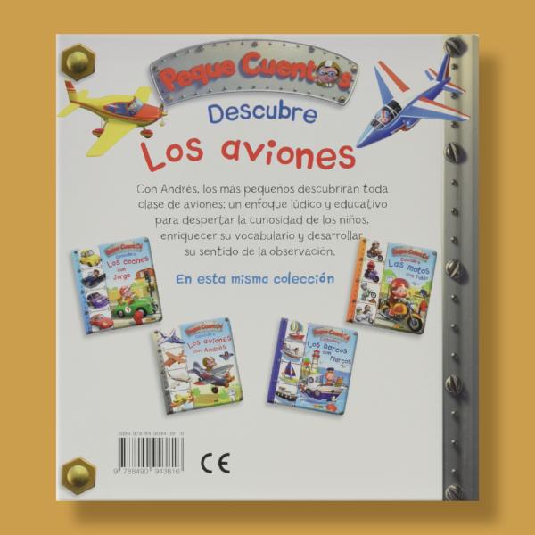 Peque cuentos: Descubre los aviones con Andrés - Émilie Beaumont - Panini Books