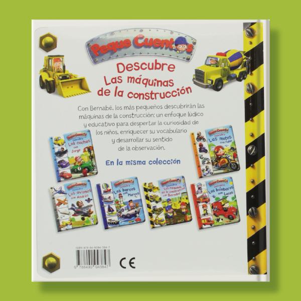 Peque cuentos: Descubre las máquinas de la construcción con Bernabé - Émilie Beaumont - Panini Books