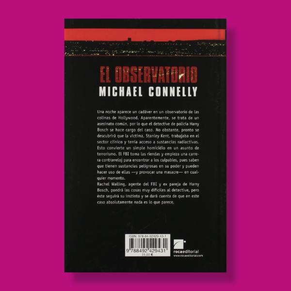 El observatorio - Michael Connelly - Roca