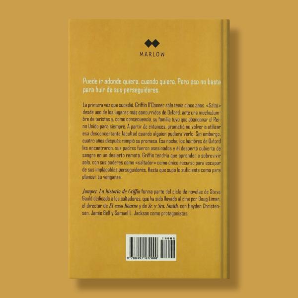 Jumper: La historia de Griffin - Steven Gould - Marlow