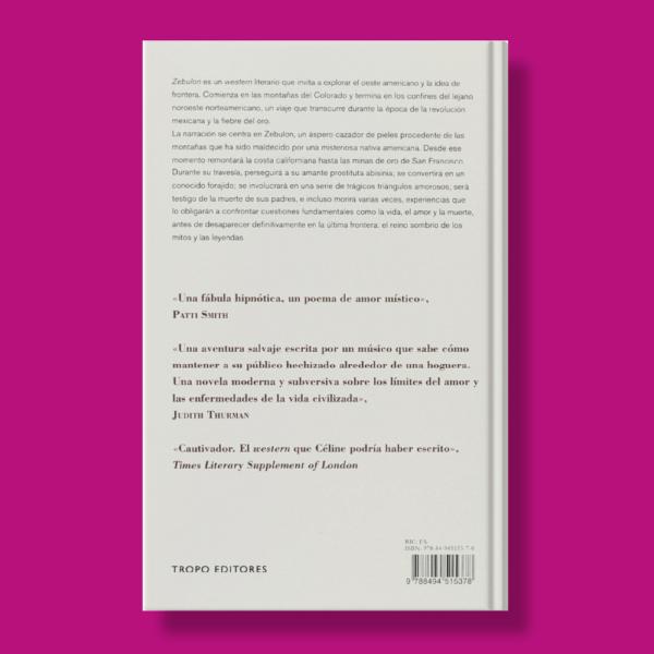 Zebulón - Rudolph Wurlitzer - Tropo Editores