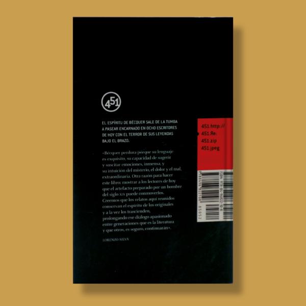 Leyendas de Bécquer - Varios Autores - 451 Editores