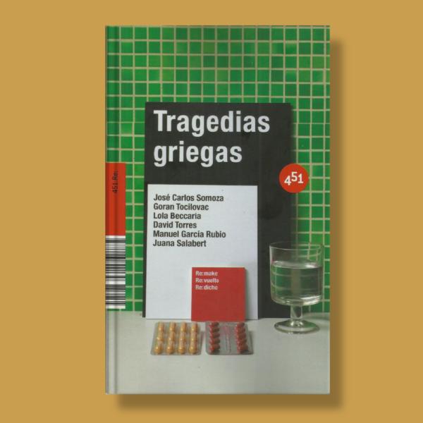 Tagedias griegas - Varios Autores - 451 Editores