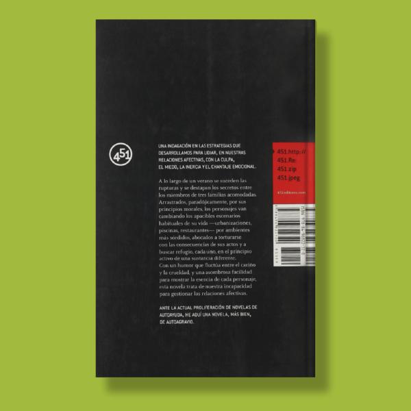 Los principios activos - Julio Fajardo Herrero - 451 Editores