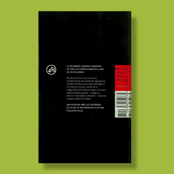 Aventuras del señorito en su arcadia - Stephen Leacock - 451 Editores